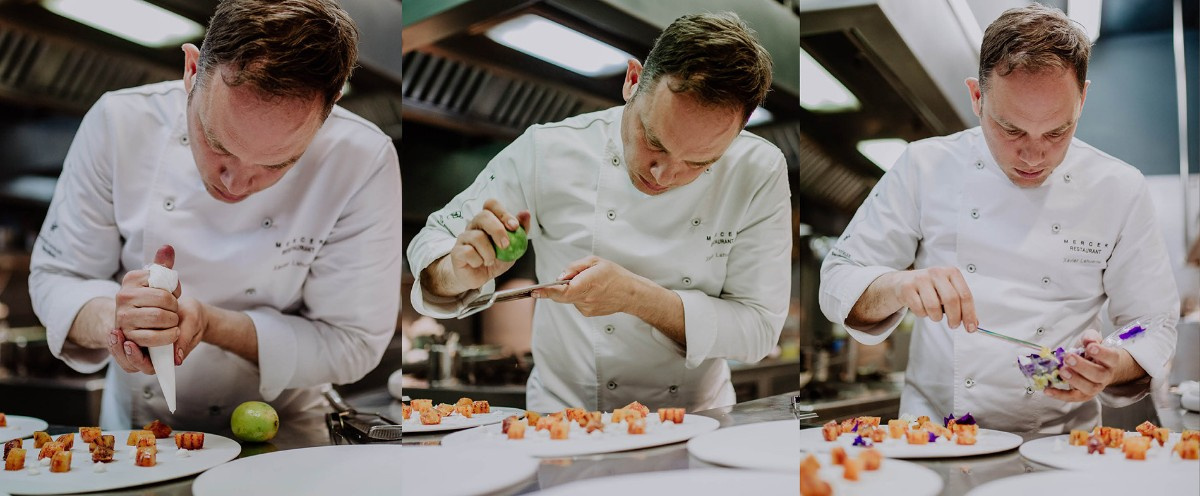 Chef Xavier Lahuerta at the Mercer Barcelona
