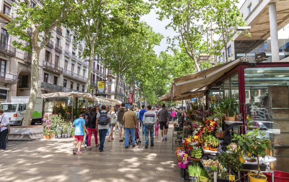 A Walk Through La Rambla And Its Main Points Of Interest