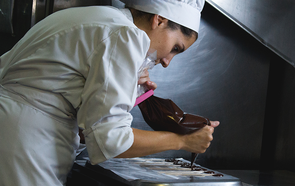 Mamen Bonet, Pastry Chef at the Mercer Barcelona